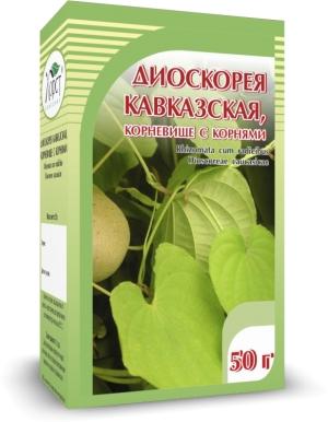 ДИОСКОРЕЯ кавказская, корневище с корнями