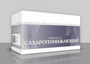 """ИМБИРНЫЙ ЧАЙ  """"Сахаропонижающий"""""""