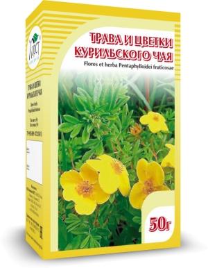 КУРИЛЬСКИЙ чай, трава и цветки